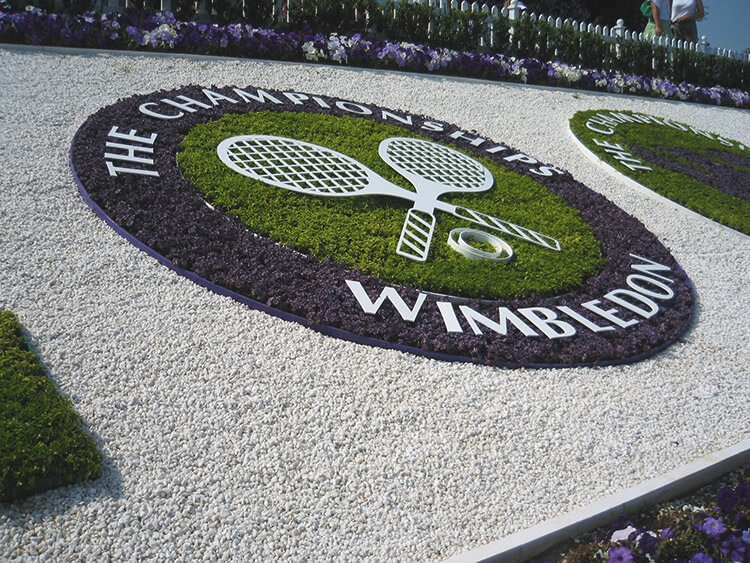 Wimbledon, London during the Season
