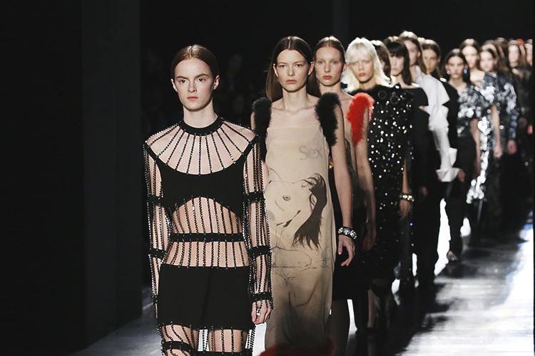 London Fashion Week during the Season