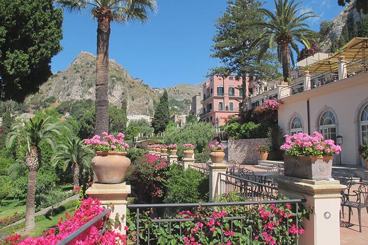 Grand Hotel Timeo, Sicily
