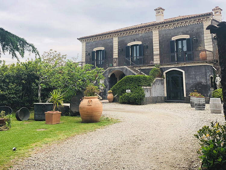 Benanti winery, Sicily