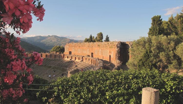 Amphitheatre Taormina, Sicily